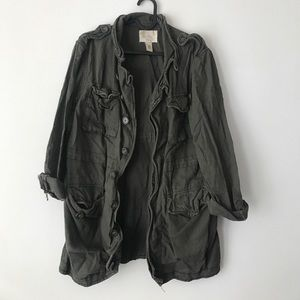 Urban Outfitters linen/cotton military jacket